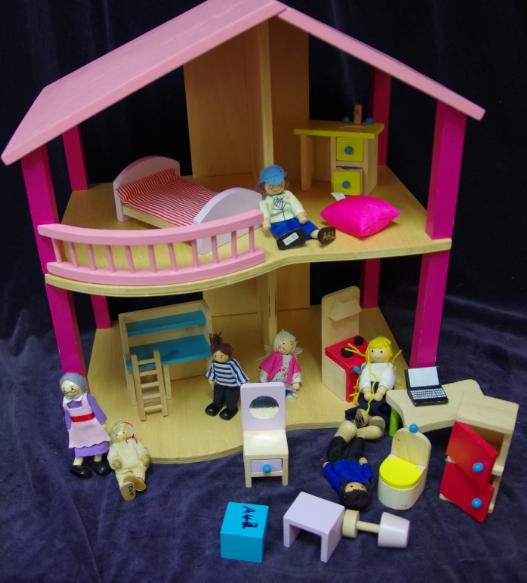 A42: Pink Dollhouse