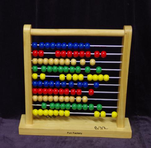 B32: Wood frame Abacus