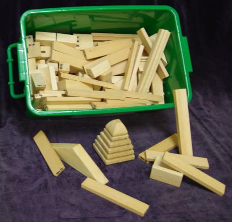 C16: Arabian Table Top Block Set