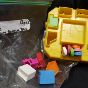 E20: Keys of Learning Shape Sorter Box