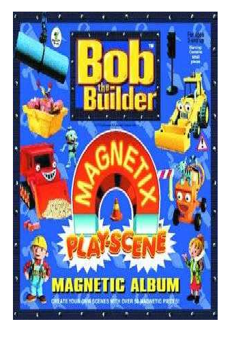 E31: Bob The Builder Magnetix Play-Scene