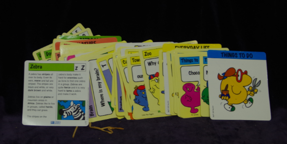 E34: Mr Men & Little Miss Learning Cards
