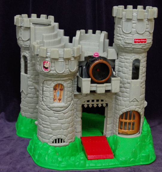 E42: Fisher Price Viking Castle