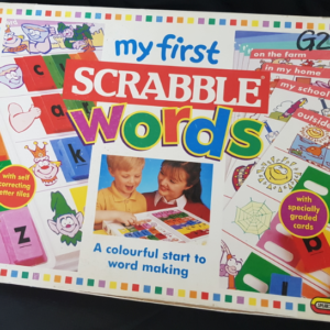 G22: My First Scrabble words