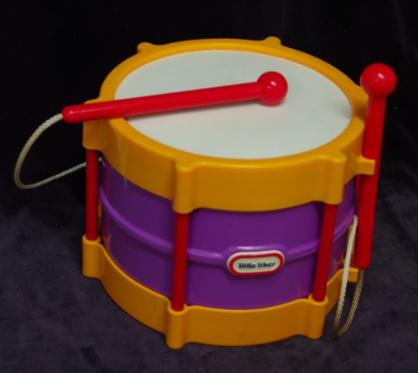 M02: Little Tikes Drum
