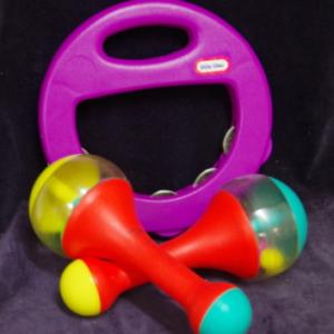 M04: Little Tikes Tambourine & Maracas