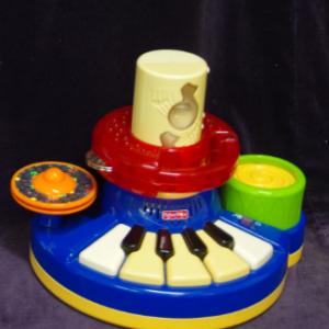 M11: Fisher Price Piano Drum Kit