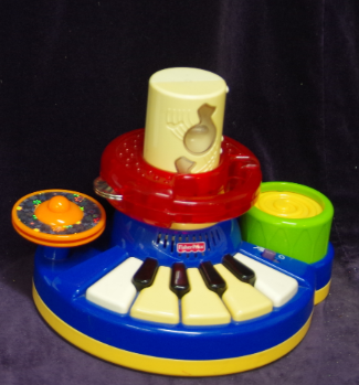 M11: Fisher Price Piano Drum Kit