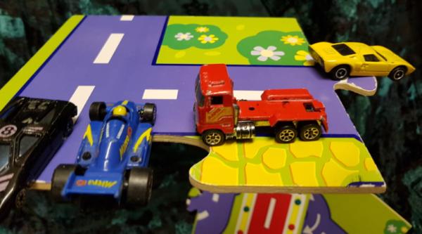 V33: Garage & Vehicle carry case set