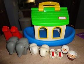 W02: Little Tikes Noah's Ark (Vintage)